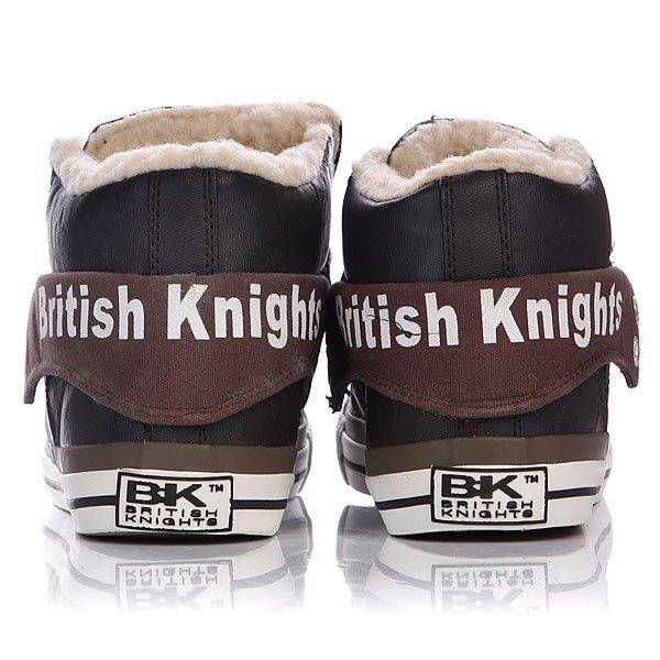 Кеды утепленные женские British Knights Roco Dark Brown