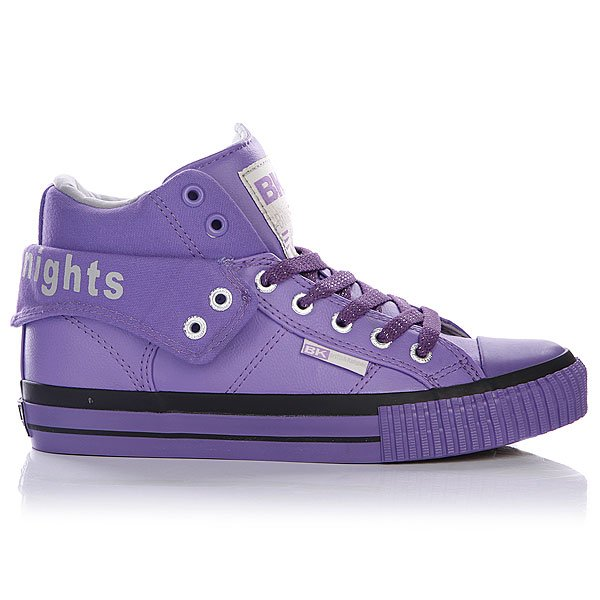 Кеды высокие женские British Knights Roco Purple/Light Grey/Purple