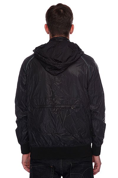 Ветровка Zoo York Packable Shell Blk