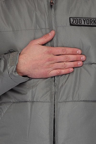 Куртка зимняя Zoo York Kew Smoke
