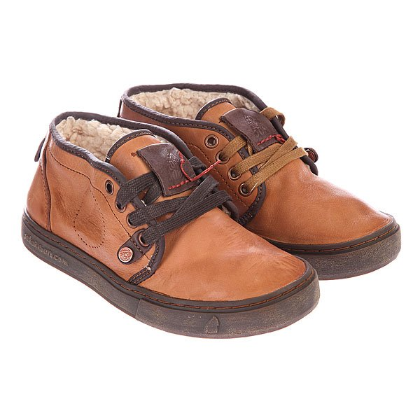 Кеды утепленные Satorisan Napa Sheep Light Brown