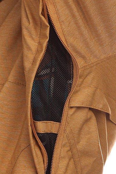 Куртка женская Roxy Torah Bright Individual Jacket Bone Brown