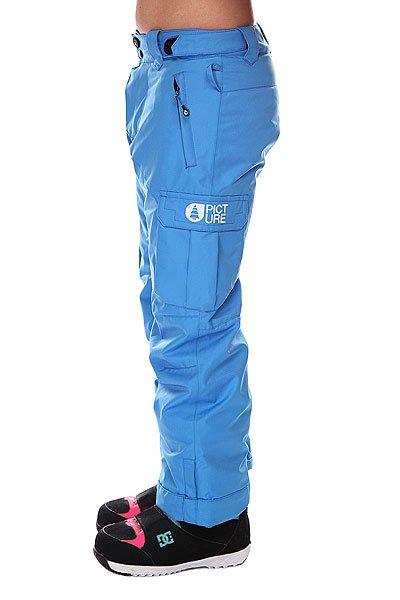 Штаны сноубордические детские Picture Organic Kiddy Pant Blue