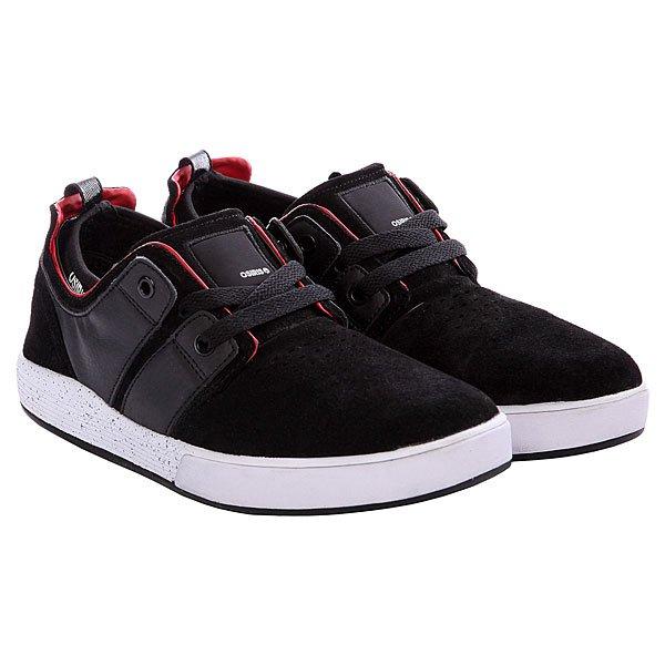 Кеды низкие Osiris Duffel Kickback Black/Red/White