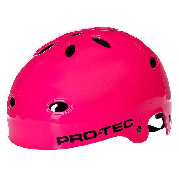 Шлем для скейтборда Pro-Tec Wake Gloss Punk Pink