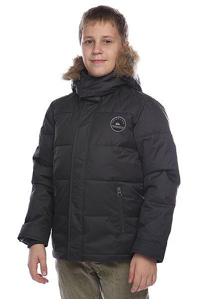 Куртка зимняя детская  Quiksilver Red Bud Youth Dark Charcoal