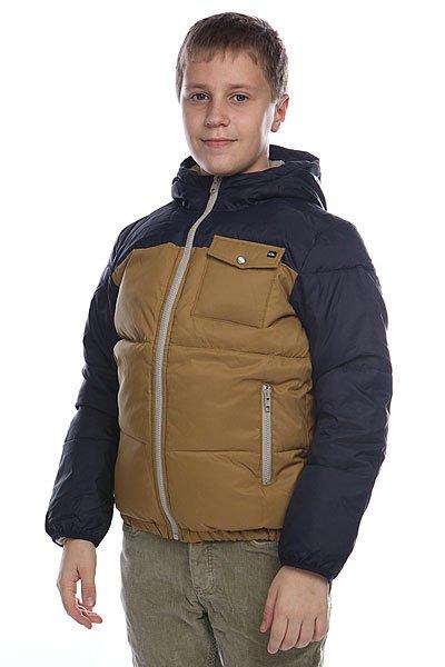 Куртка зимняя детская  Quiksilver Baran Youth Navy Blazer