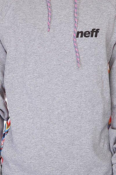 Толстовка Neff Furyous Anthracite Grey
