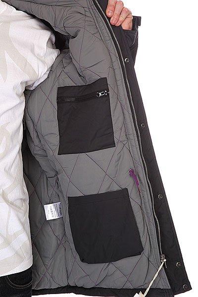 Куртка парка TrueSpin Fishtail Black/Gray