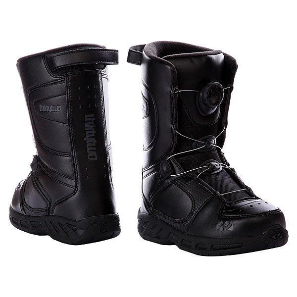 Ботинки для сноуборда детские Thirty Two Boa Black