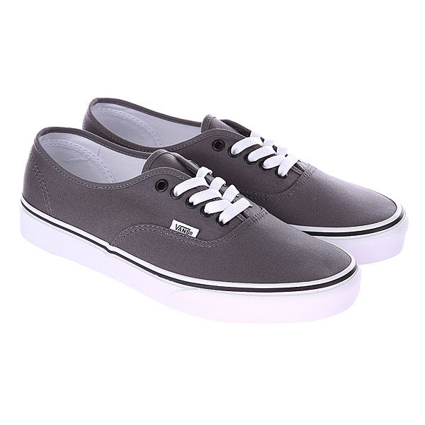 Кеды низкие Vans U Authentic Pewter/Black Medium Grey