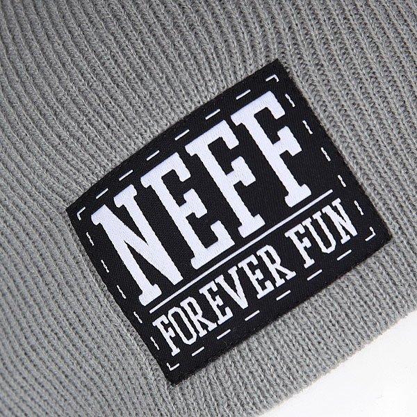 Шапка носок Neff Foreve Fun Grey