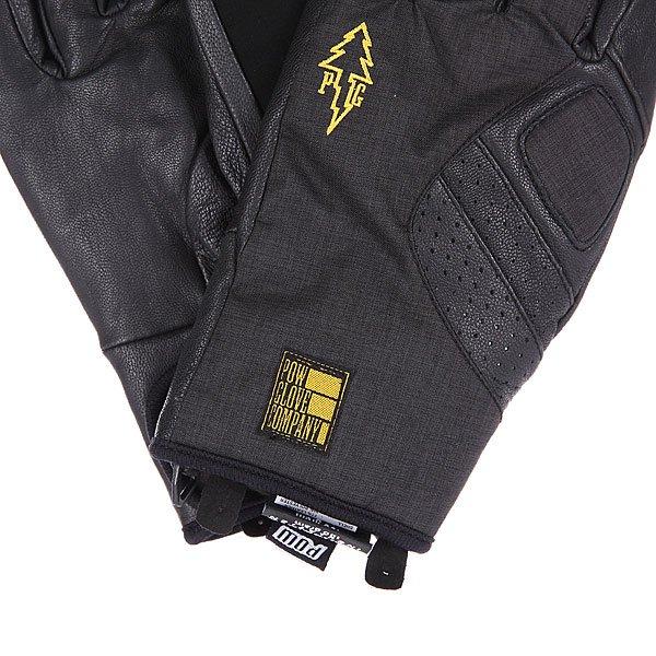 Перчатки сноубордические Pow Vandal Glove Black