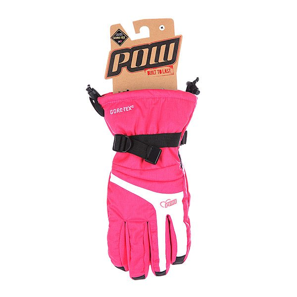 Перчатки сноубордические женские Pow Falon Glove Pink