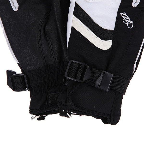 Перчатки сноубордические женские Pow Astra Glove White