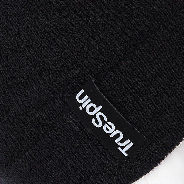 Шапка носок TrueSpin Basic Style Black