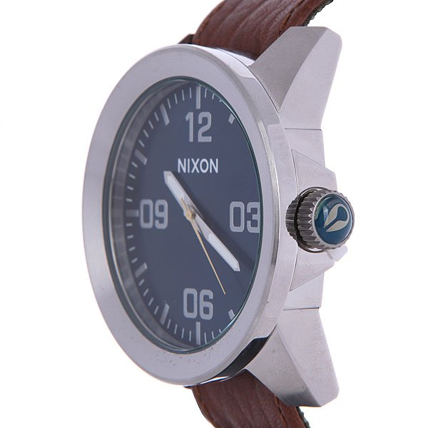 Часы Nixon Corporal Brown/Blue Sunray