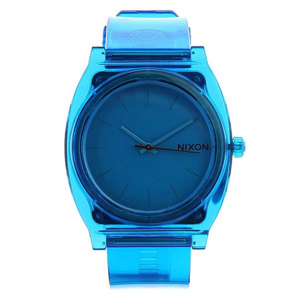 Часы Nixon Time Teller P Translucent Blue