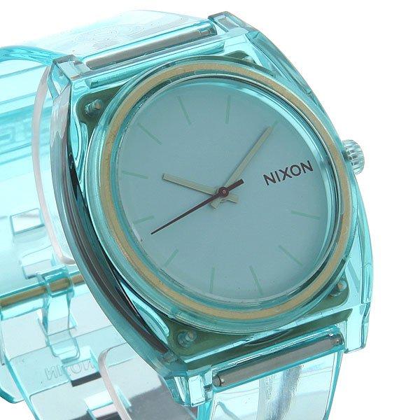 Часы Nixon Time Teller P Translucent Mint