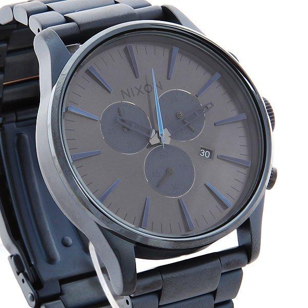 Часы Nixon Sentry Chrono Deep Blue