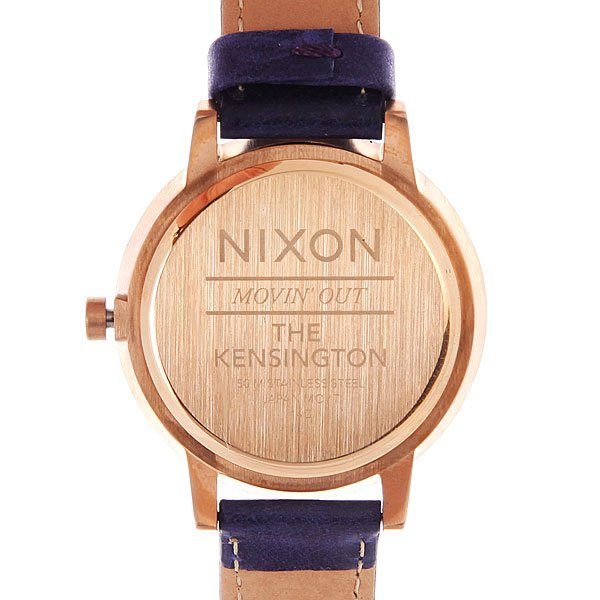 Часы Nixon Kensington Leather Cobalt/Mod