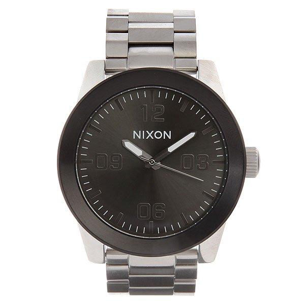 Часы Nixon Corporal Ss Silver/Gunmetal