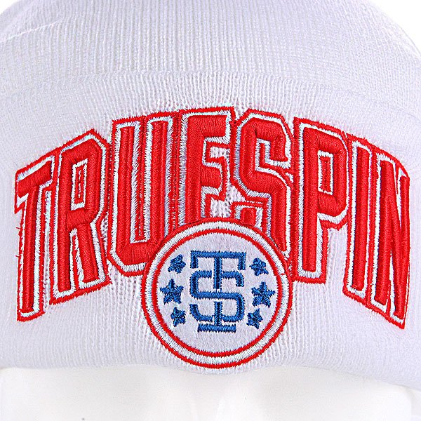 Шапка TrueSpin Baseball Classic White/Blue/Red