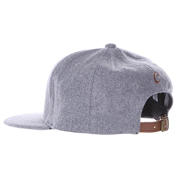 Бейсболка TrueSpin Abc Wool Edition C Grey
