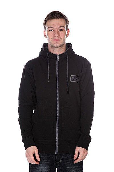 Толстовка сноубордическая Fallen Sequoia Zip Hood Black