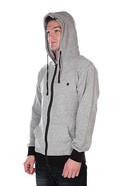 Толстовка Fallen Sanction Zip Hood Speckle Grey