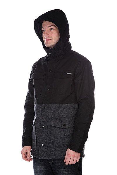 Куртка Etnies Gothenburg Jacket Black/Grey
