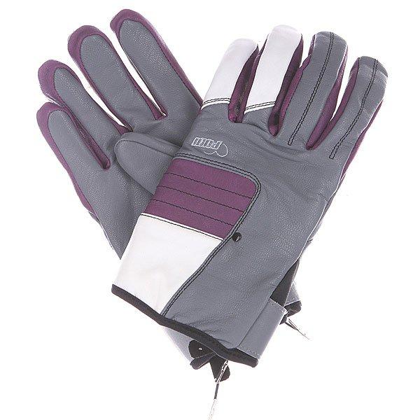 Перчатки сноубордические женские Pow Chase Glove Grey