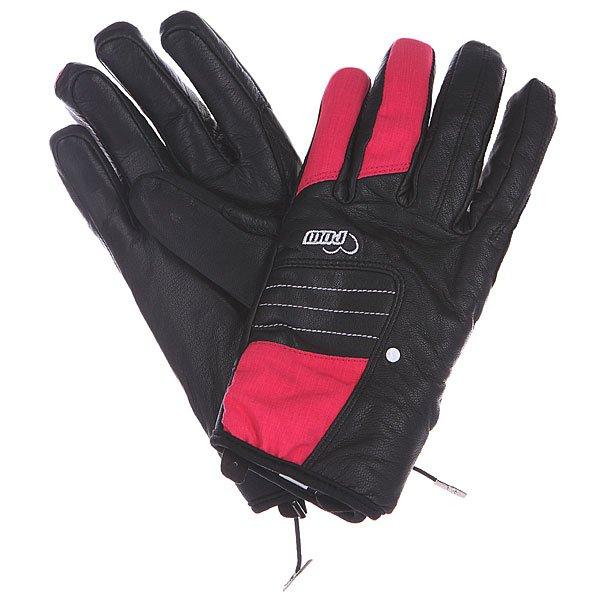 Перчатки сноубордические женские Pow Chase Glove Raspberry