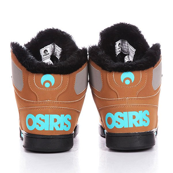 Кеды утепленные Osiris Nyc Shr Black/Grey