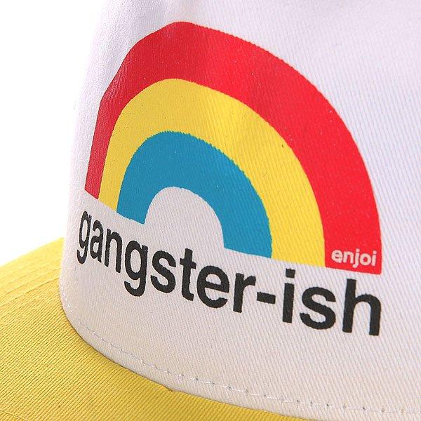 Бейсболка с сеткой Enjoi Gangster-ish Trucker Yellow