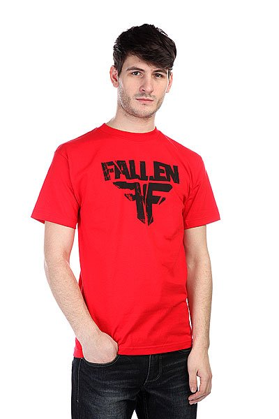 Футболка Fallen Fracture Blood Red