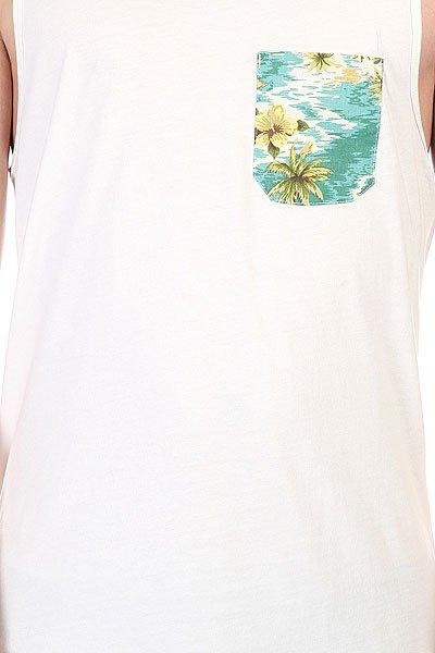 Майка Globe Tropical Singlet White
