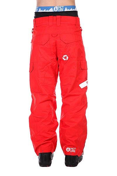 Штаны сноубордические Picture Organic Park Avenue Red