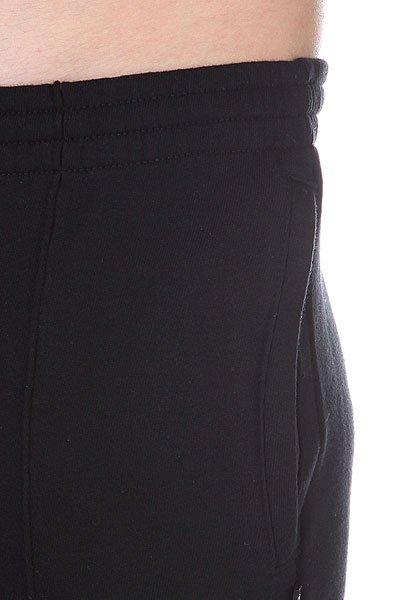 Штаны прямые Diamond Emblem Sweats Black