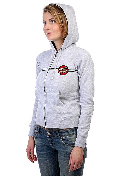 Толстовка женская Santa Cruz Classic Dot Grey Heather