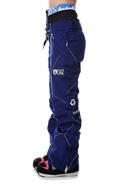 Штаны сноубордические женские Picture Organic Cooler Dark Blue
