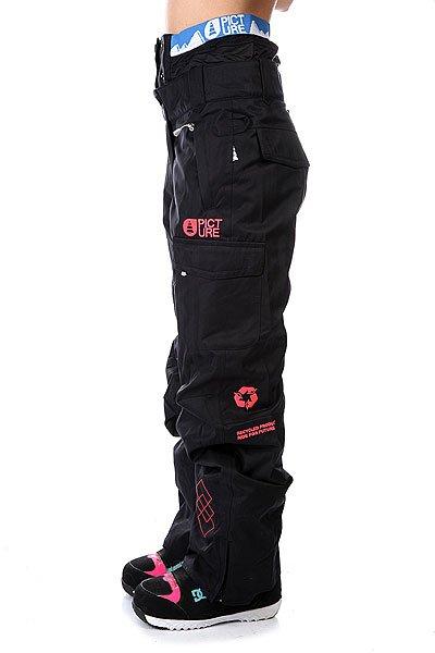 Штаны сноубордические женские Picture Organic Dallas Avenue Black