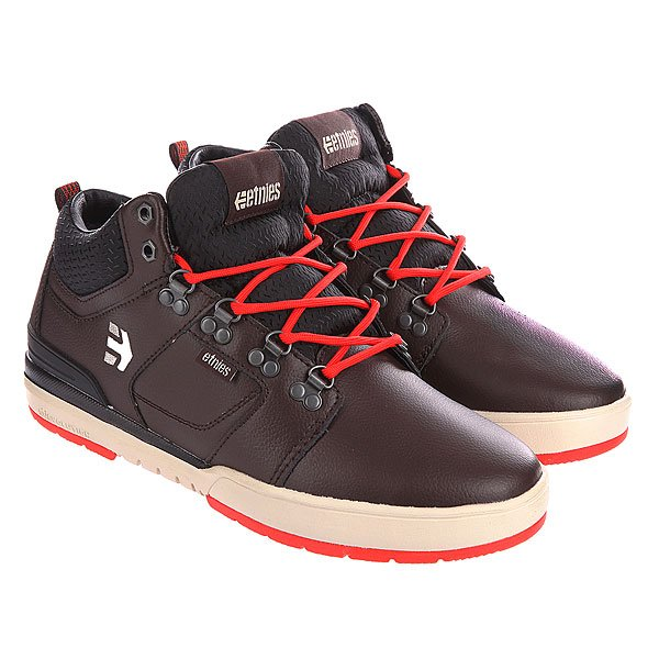 Кеды высокие Etnies High Rise Odb Lx Dark Brown