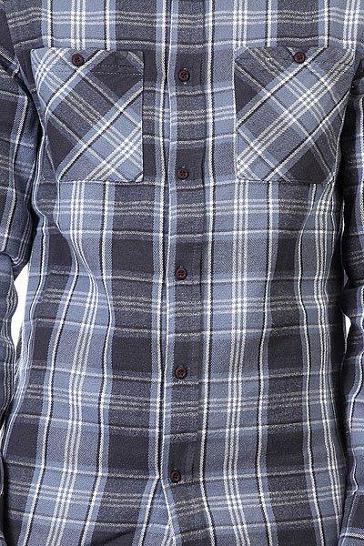 Рубашка в клетку Altamont Binary Ls Flannel Ash