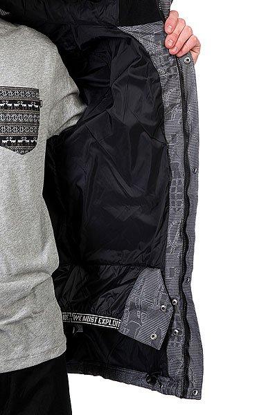 Куртка Grenade Jacket Riot Code Gray