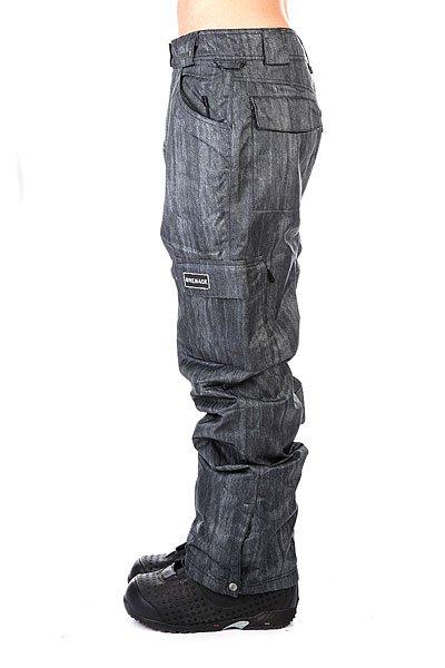 Штаны сноубордические Grenade Pant Army Corp Black Denim