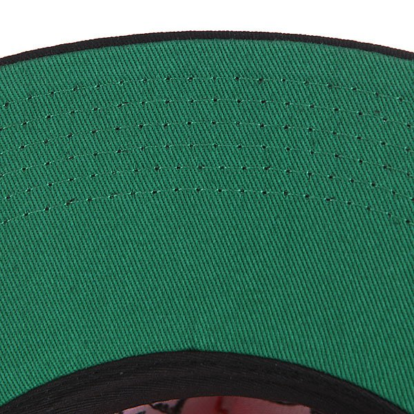 Бейсболка Diamond Bar Logo Snapback Red/Black
