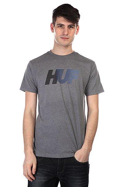 Футболка Huf 10k Gradient Tee Grey Heather