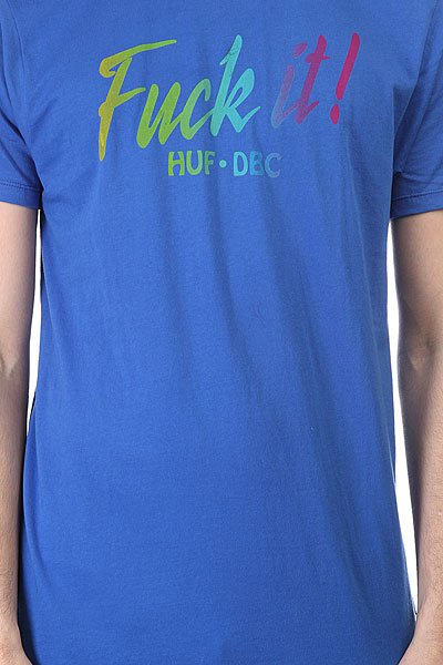 Футболка Huf Spring Break Tee Royal
