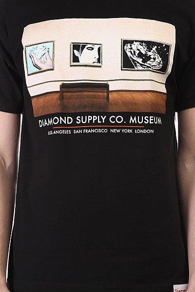 Футболка Diamond Gallery Tee Black